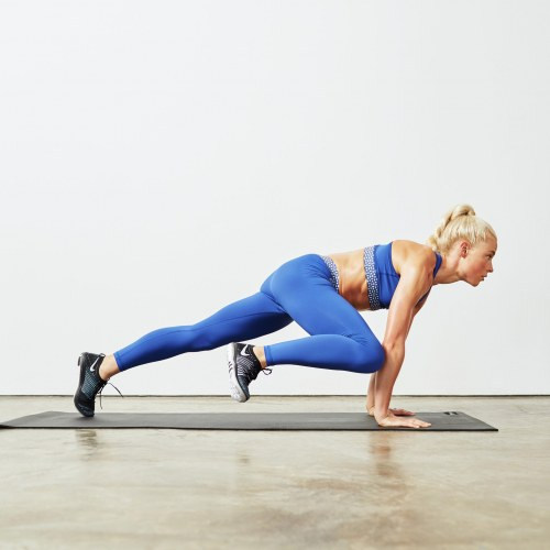 Mountain Climbers / Alternating Knee-ins